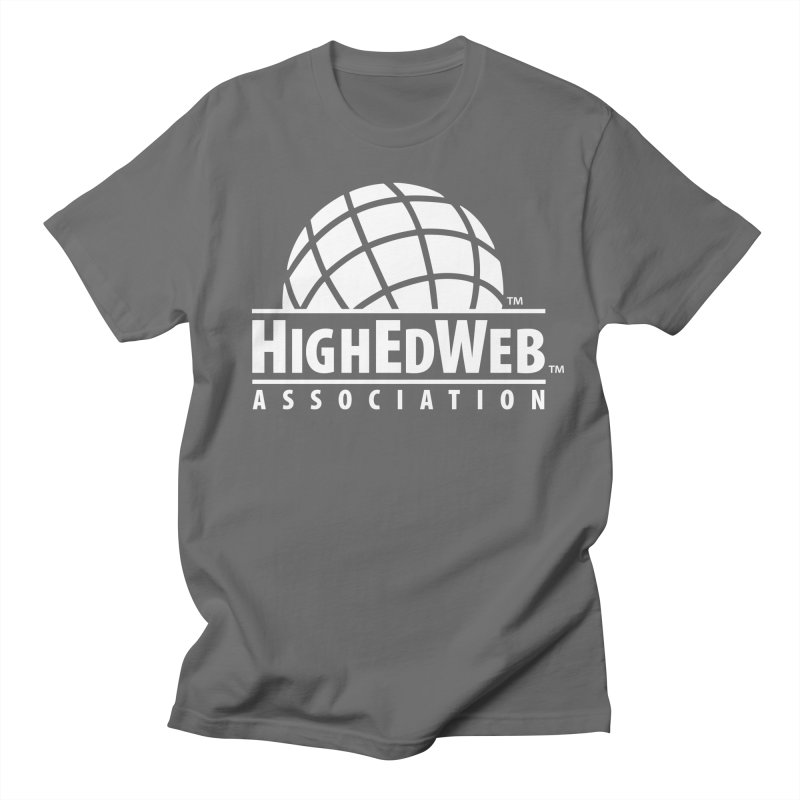 HighEdWeb Reversed Classic Logo Men's T-Shirt by HighEdWeb Apparel and Accessories