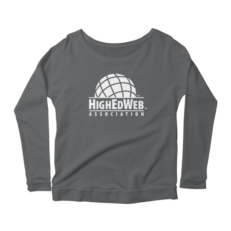 HighEdWeb Reversed Classic Logo Women's Longsleeve T-Shirt by HighEdWeb Apparel and Accessories