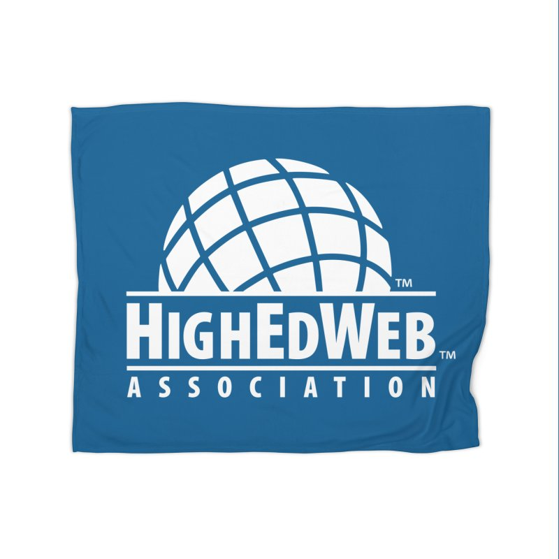 HighEdWeb Reversed Classic Logo Home Blanket by HighEdWeb Apparel and Accessories