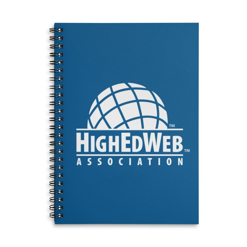 HighEdWeb Reversed Classic Logo Accessories Notebook by HighEdWeb Apparel and Accessories