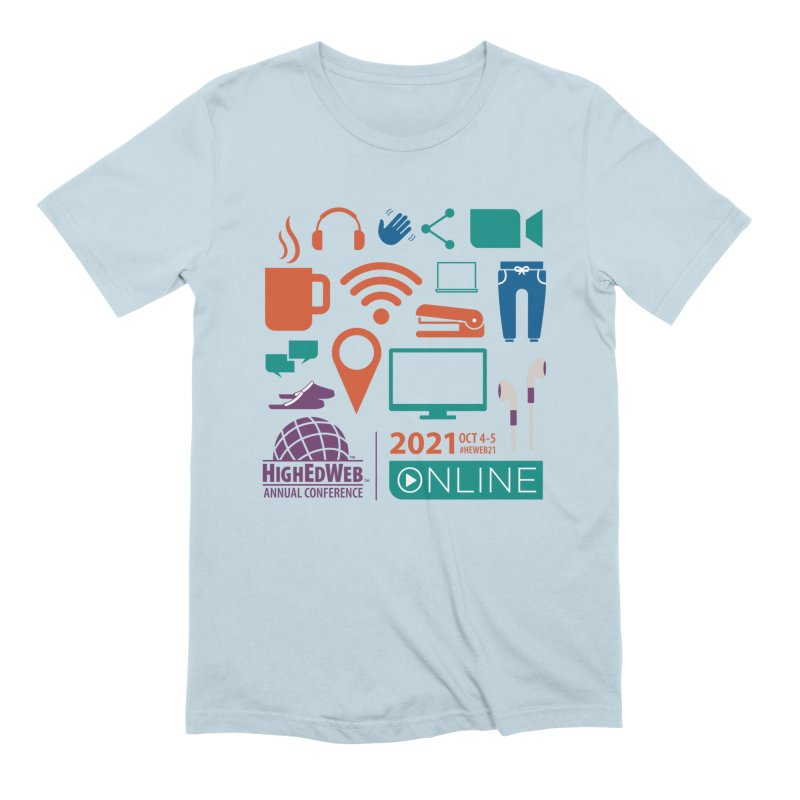 HighEdWeb 2021 Annual Conference Men's T-Shirt by HighEdWeb Apparel and Accessories