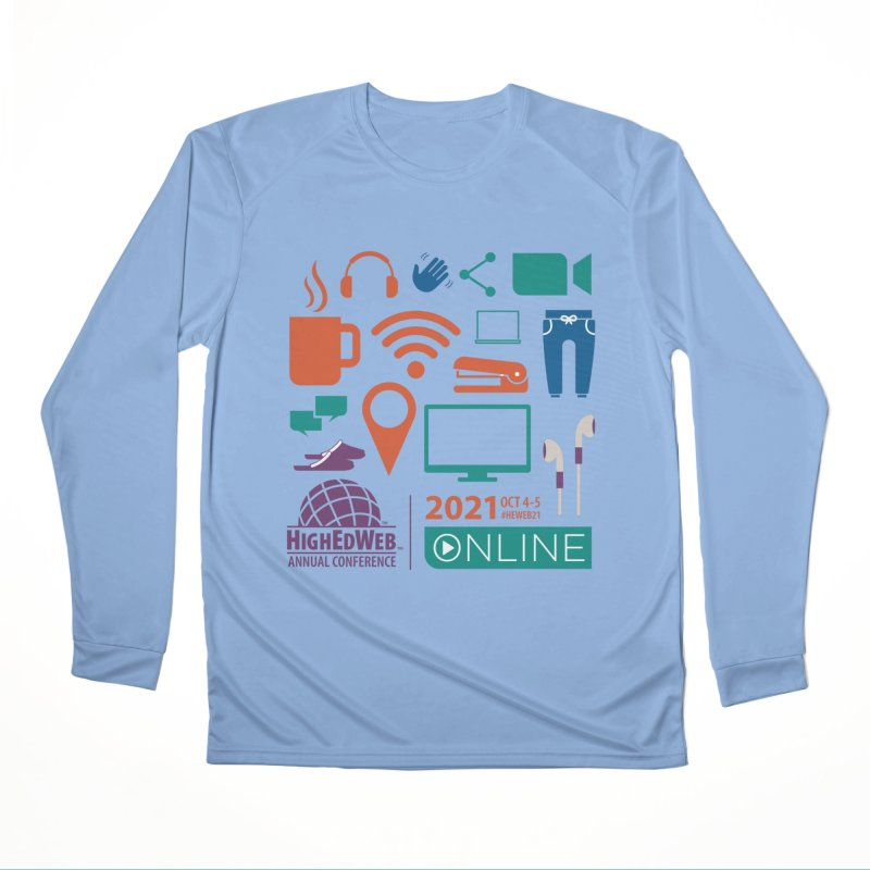 HighEdWeb 2021 Annual Conference Men's Longsleeve T-Shirt by HighEdWeb Apparel and Accessories