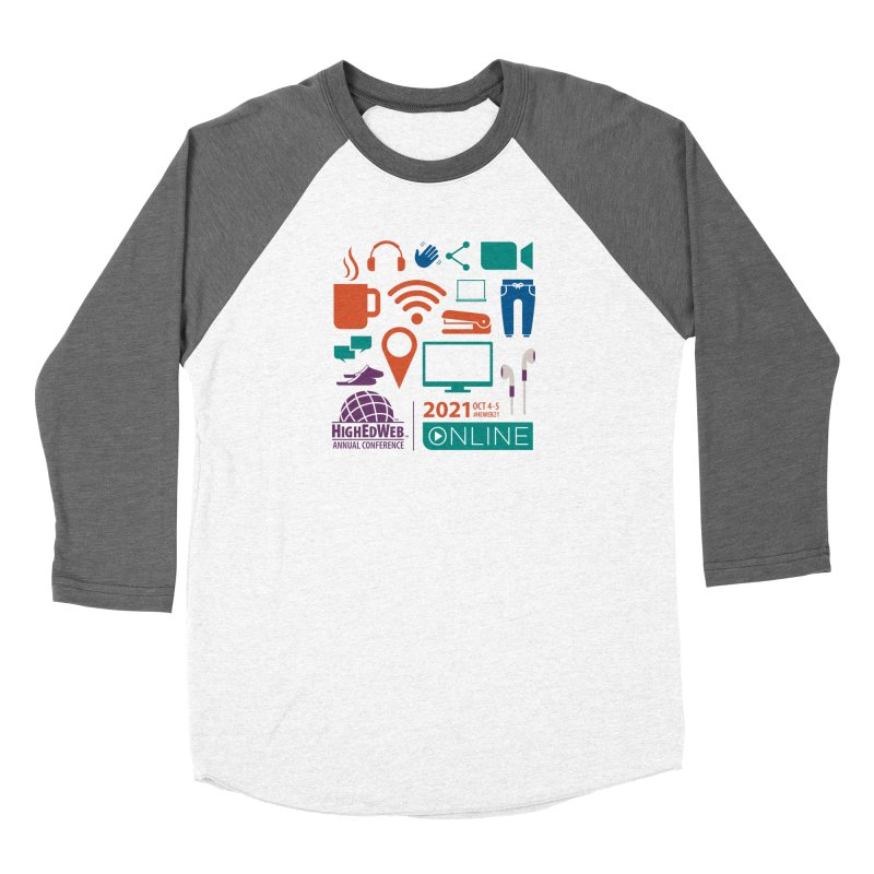 HighEdWeb 2021 Annual Conference Women's Longsleeve T-Shirt by HighEdWeb Apparel and Accessories