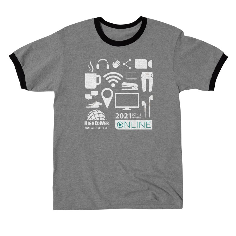 HighEdWeb 2021 Annual Conference — Reversed Women's T-Shirt by HighEdWeb Apparel and Accessories