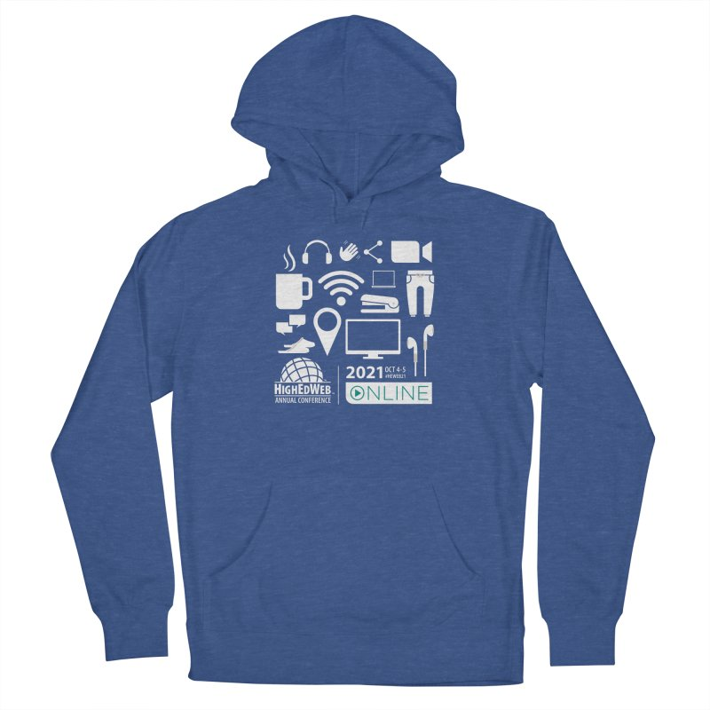 HighEdWeb 2021 Annual Conference — Reversed Women's Pullover Hoody by HighEdWeb Apparel and Accessories