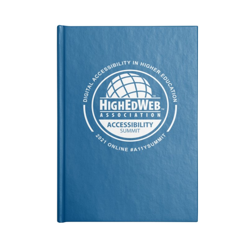 HighEdWeb 2021 Accessibility Summit Accessories Notebook by HighEdWeb Apparel and Accessories