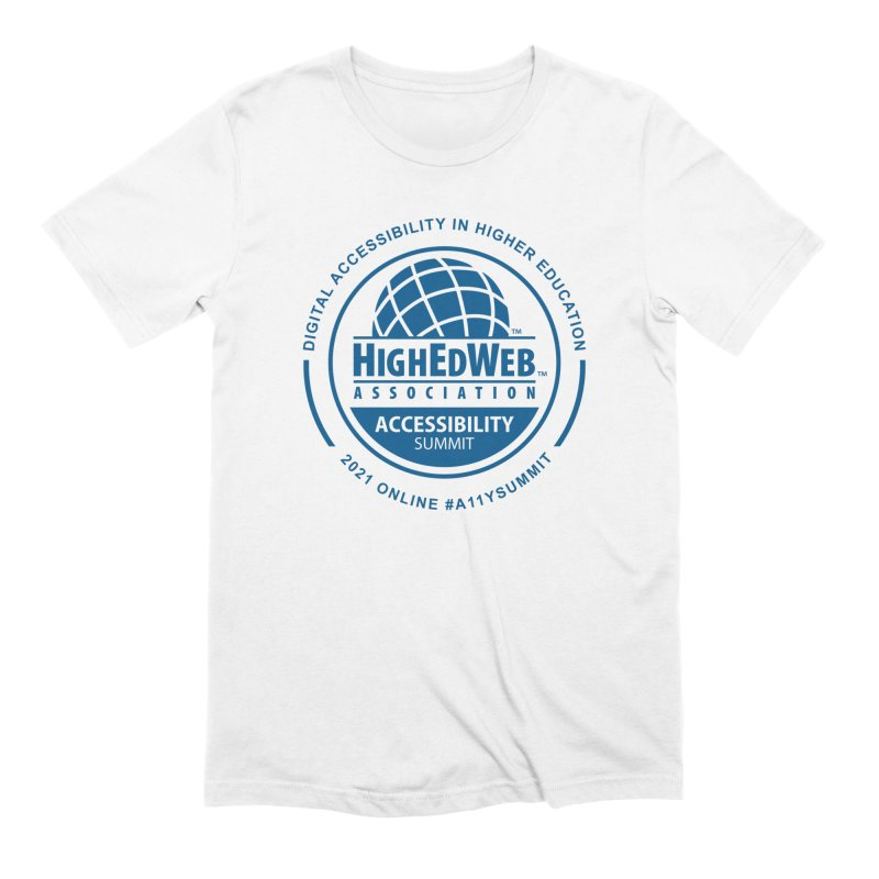 HighEdWeb 2021 Accessibility Summit Men's T-Shirt by HighEdWeb Apparel and Accessories