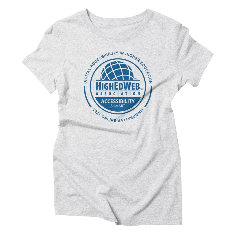 HighEdWeb 2021 Accessibility Summit Women's T-Shirt by HighEdWeb Apparel and Accessories