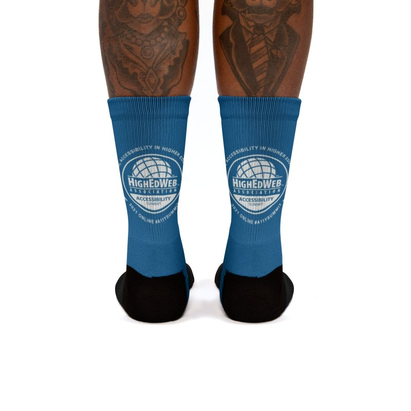 HighEdWeb 2021 Accessibility Summit Women's Socks by HighEdWeb Apparel and Accessories