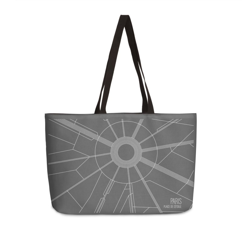 Interchange: Paris in Weekender Bag by highkicktravel's Artist Shop