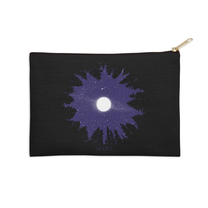 FOREST DOME Accessories Zip Pouch by Highly Irie Future Inc