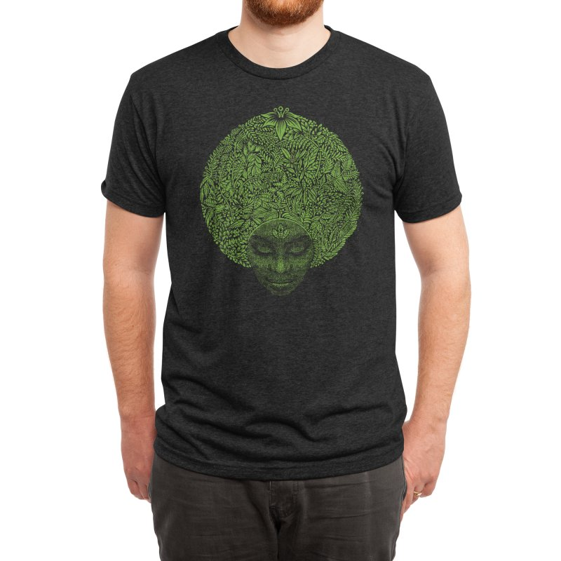 GAIA'S GARDEN Men's T-Shirt by Highly Irie Future Inc