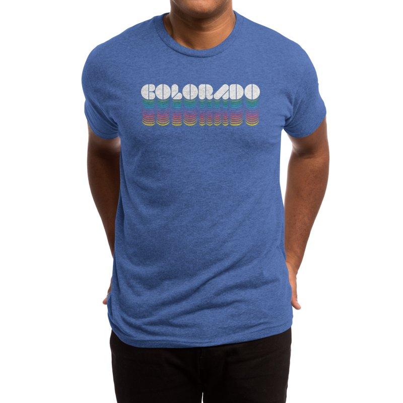 RETRO RAINBOW Men's T-Shirt by Highly Irie Future Inc