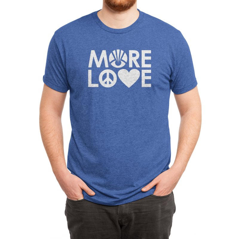 MORE LOVE Men's T-Shirt by Highly Irie Future Inc
