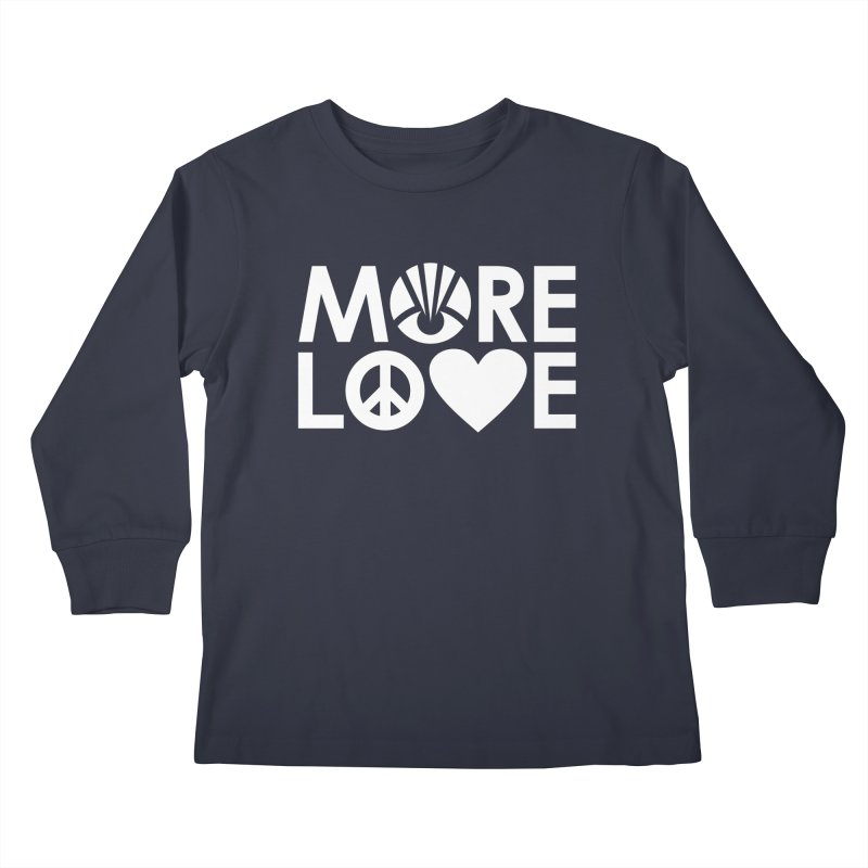 MORE LOVE Kids Longsleeve T-Shirt by Highly Irie Future Inc