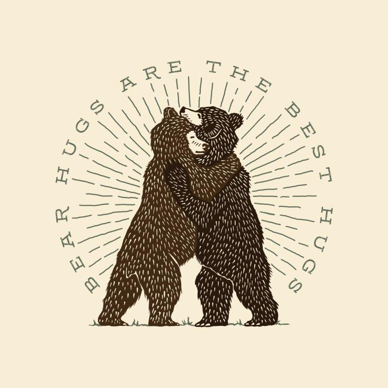 BEAR HUGS Men's T-Shirt by Highly Irie Future Inc