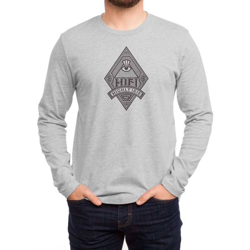 BLACK DIAMOND Men's Longsleeve T-Shirt by Highly Irie Future Inc