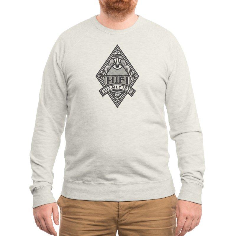 BLACK DIAMOND Men's Sweatshirt by Highly Irie Future Inc