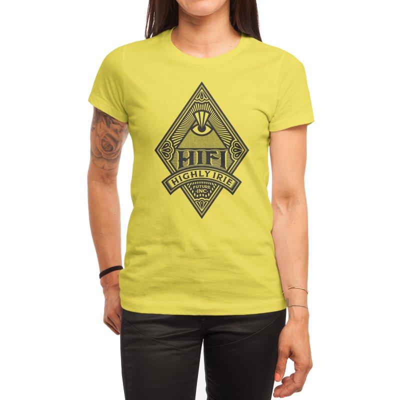 BLACK DIAMOND Women's T-Shirt by Highly Irie Future Inc