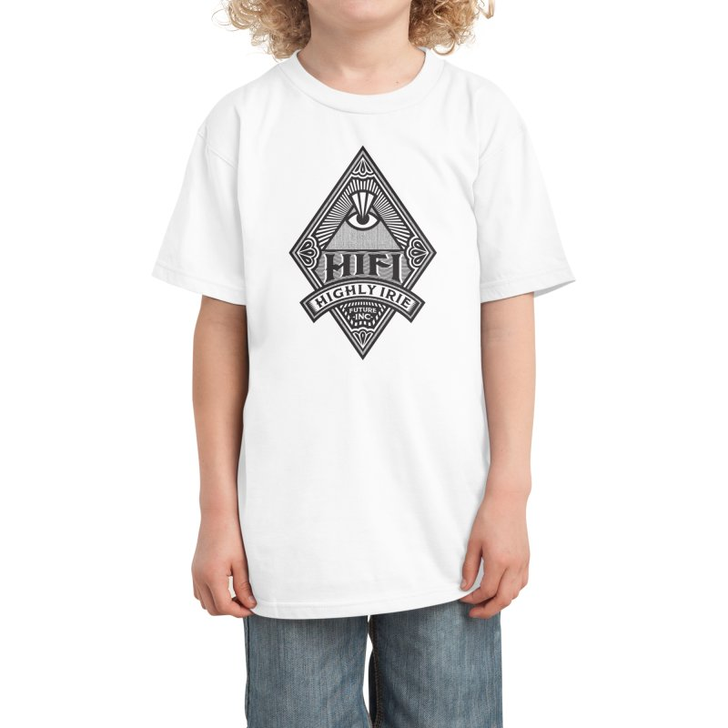 BLACK DIAMOND Kids T-Shirt by Highly Irie Future Inc