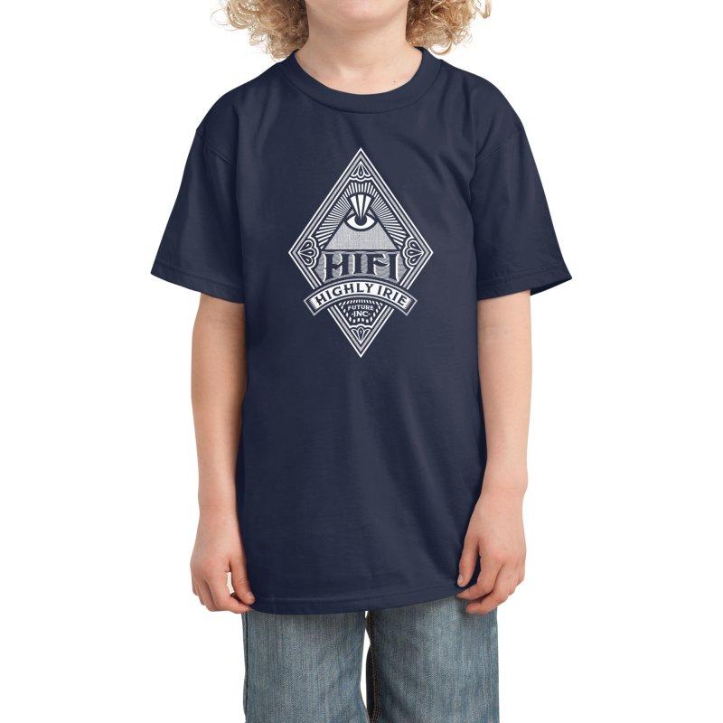 WHITE DIAMOND Kids T-Shirt by Highly Irie Future Inc