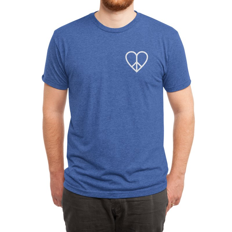 PEACE + LOVE Men's T-Shirt by Highly Irie Future Inc