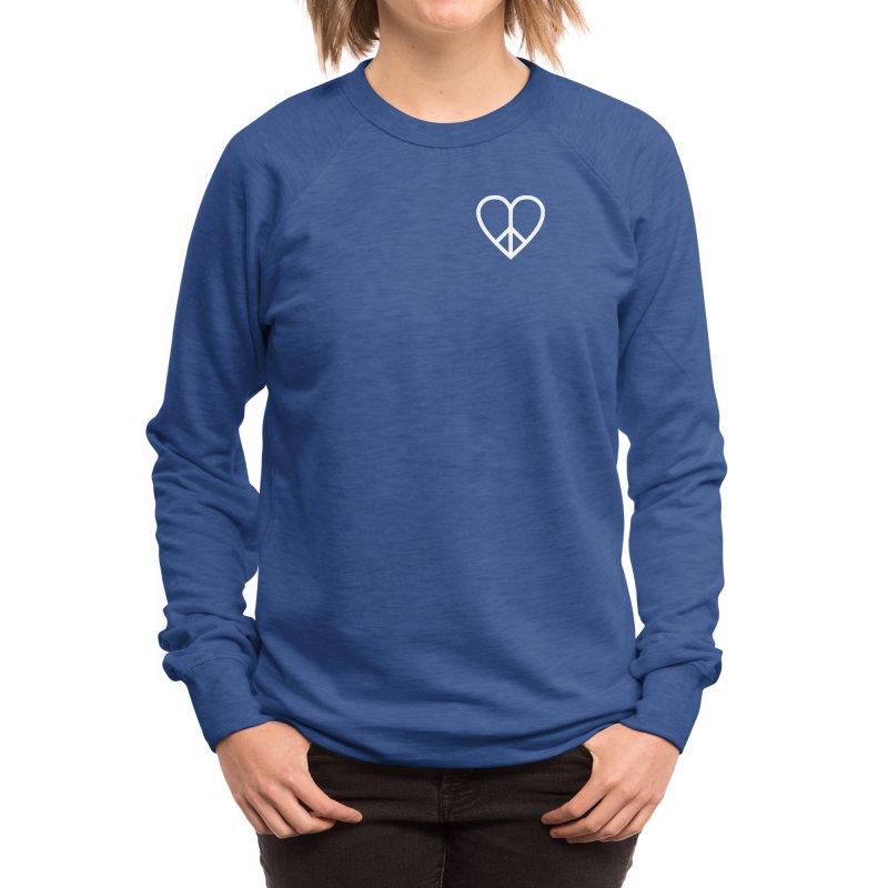 PEACE + LOVE Women's Sweatshirt by Highly Irie Future Inc