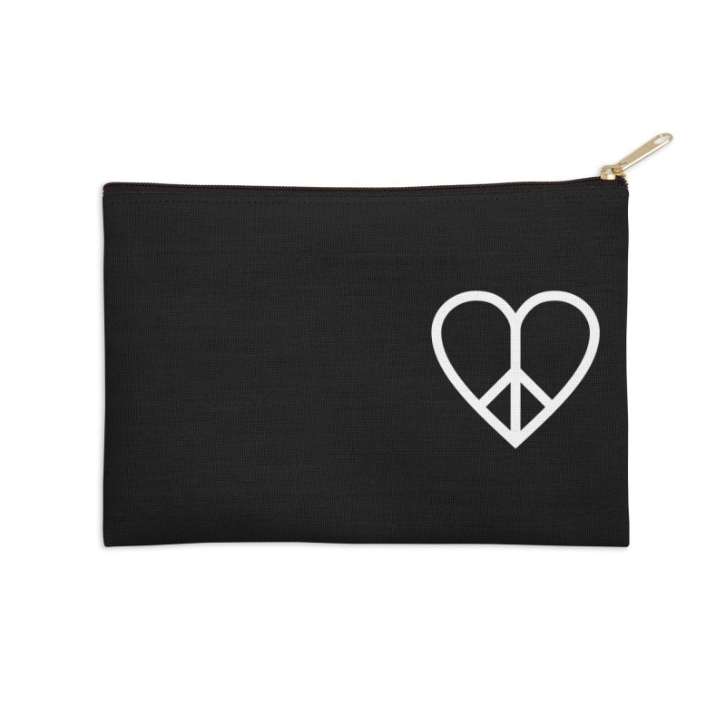 PEACE + LOVE Accessories Zip Pouch by Highly Irie Future Inc