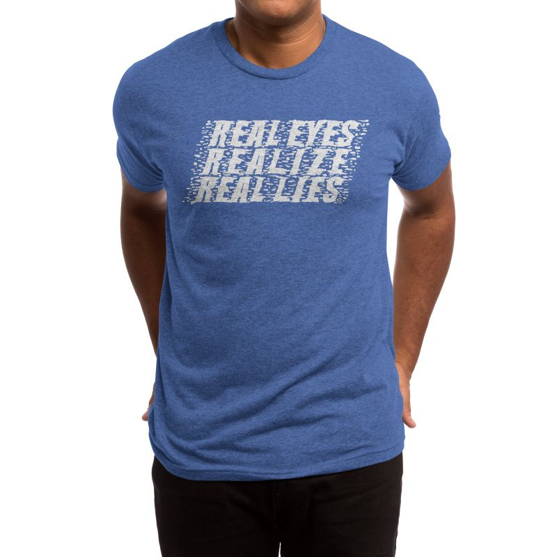 REALEYES Men's T-Shirt by Highly Irie Future Inc