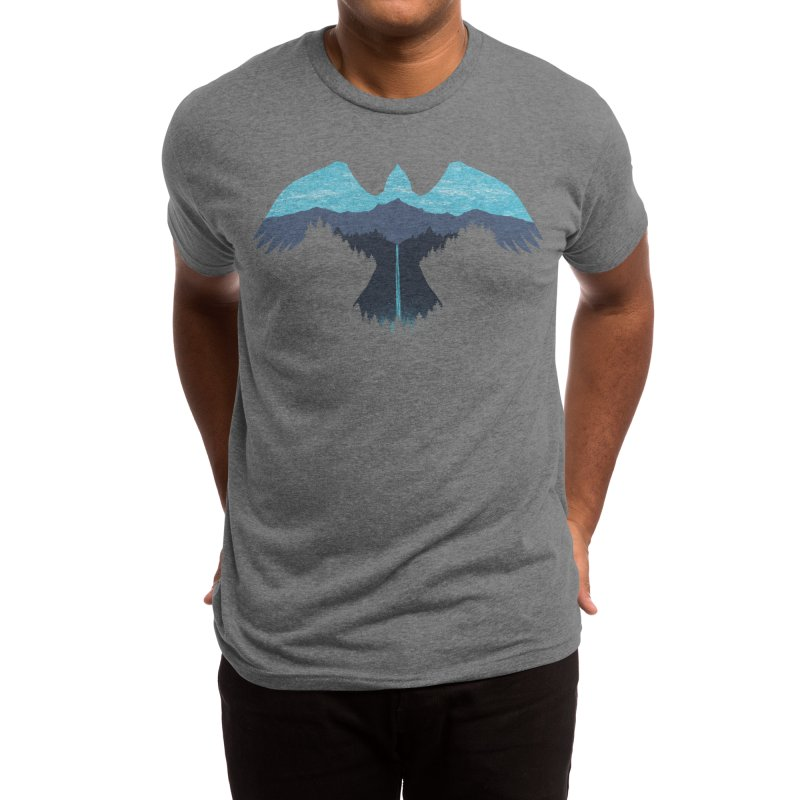 SOAR (blue sky) Men's T-Shirt by Highly Irie Future Inc