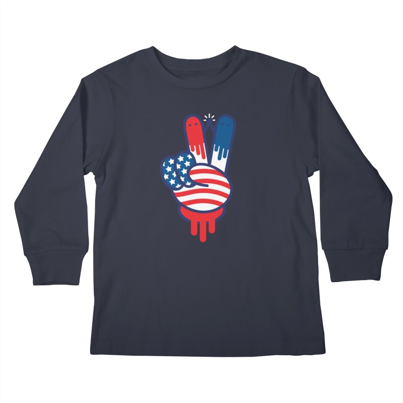 TRUE VICTORY Kids Longsleeve T-Shirt by Highly Irie Future Inc