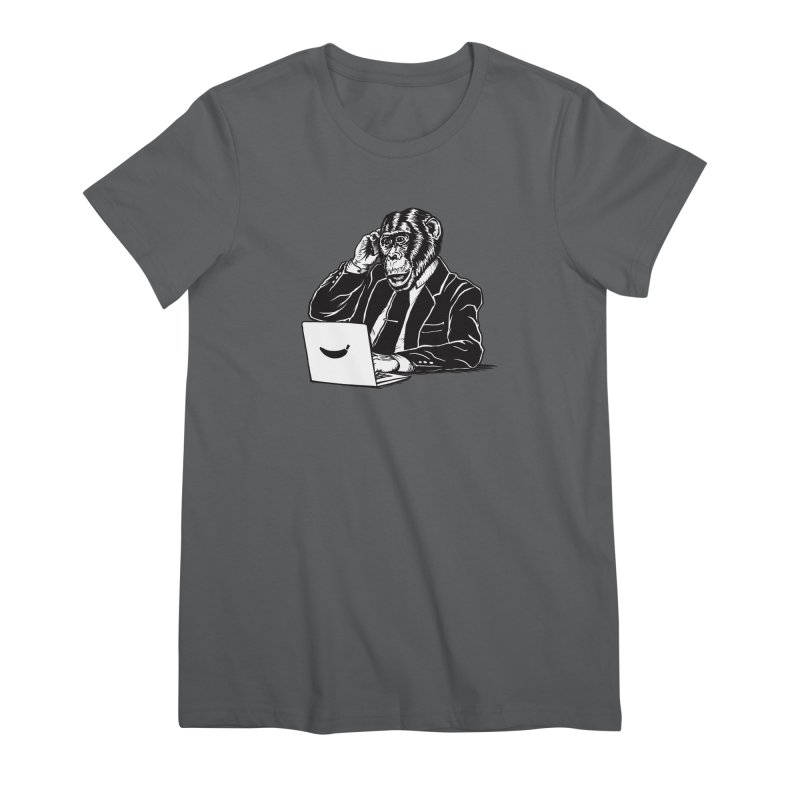 MONKEY BUSINESS Women's T-Shirt by Highly Irie Future Inc