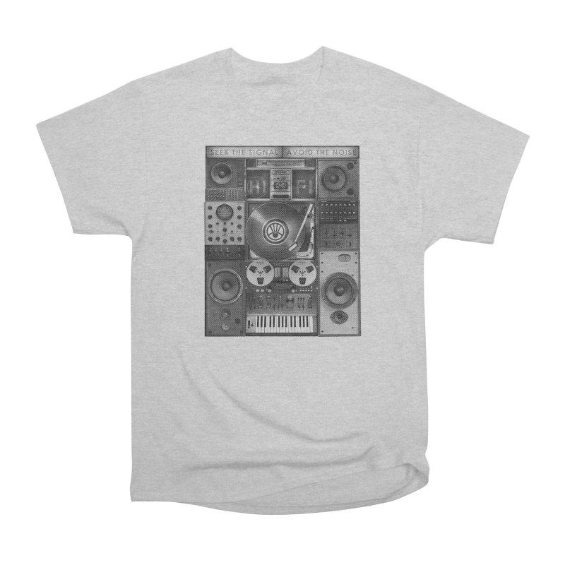 HIFI TIME MACHINE 1 Men's T-Shirt by Highly Irie Future Inc