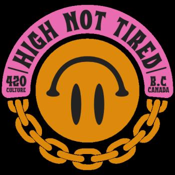 High, Not Tired Logo