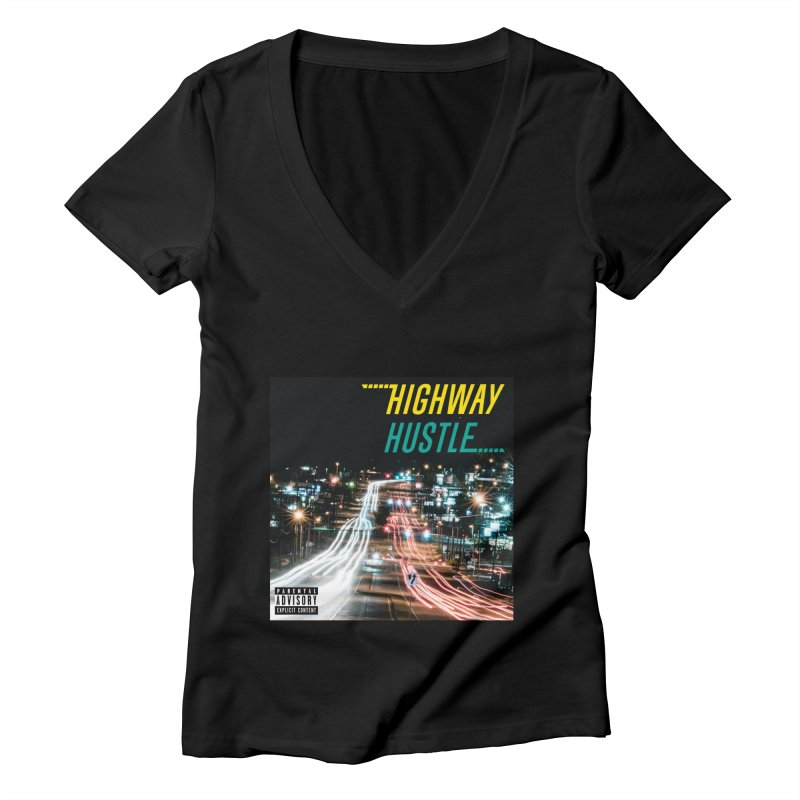 THE FA$T LIFE COLLECTION Women's V-Neck by Highway Hustle Fan Merch