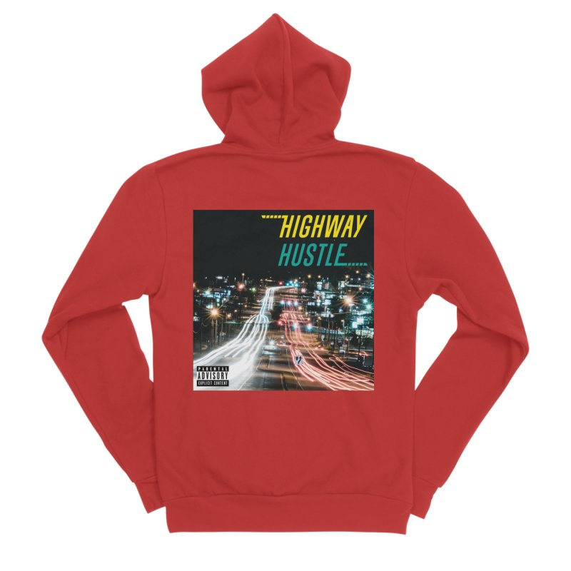 THE FA$T LIFE COLLECTION Men's Zip-Up Hoody by Highway Hustle Fan Merch
