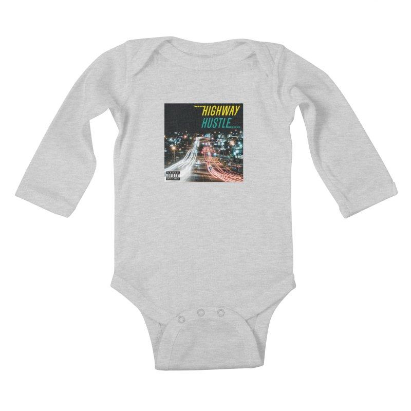 THE FA$T LIFE COLLECTION Kids Baby Longsleeve Bodysuit by Highway Hustle Fan Merch