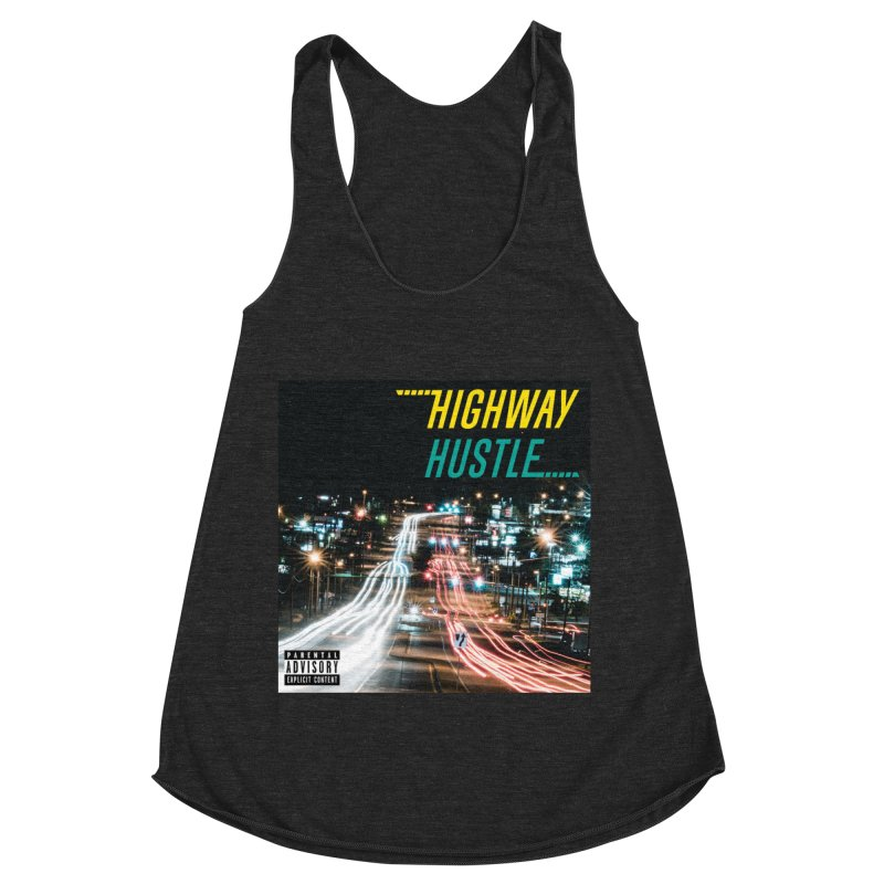 THE FA$T LIFE COLLECTION Women's Racerback Triblend Tank by Highway Hustle Fan Merch