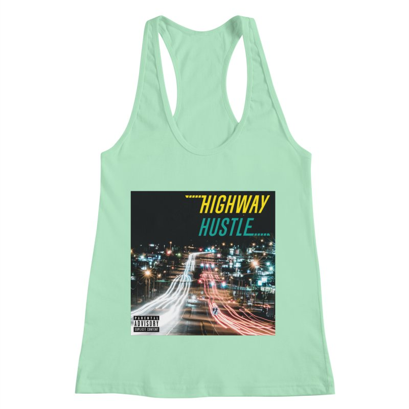 THE FA$T LIFE COLLECTION Women's Racerback Tank by Highway Hustle Fan Merch