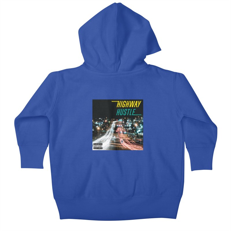 THE FA$T LIFE COLLECTION Kids Baby Zip-Up Hoody by Highway Hustle Fan Merch
