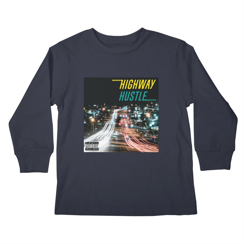 THE FA$T LIFE COLLECTION Kids Longsleeve T-Shirt by Highway Hustle Fan Merch