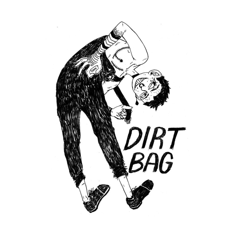 DIRT BAG Men's T-Shirt by HIGU ROSE