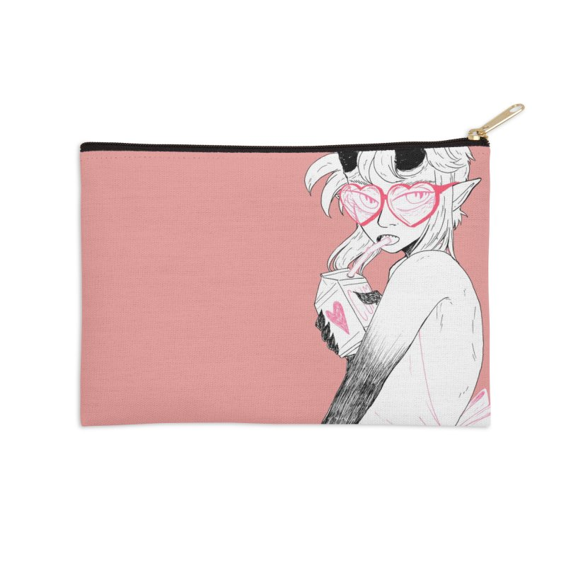 MOIST in Zip Pouch by HIGU ROSE