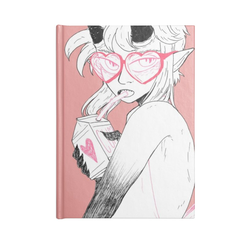 MOIST in Blank Journal Notebook by HIGU ROSE