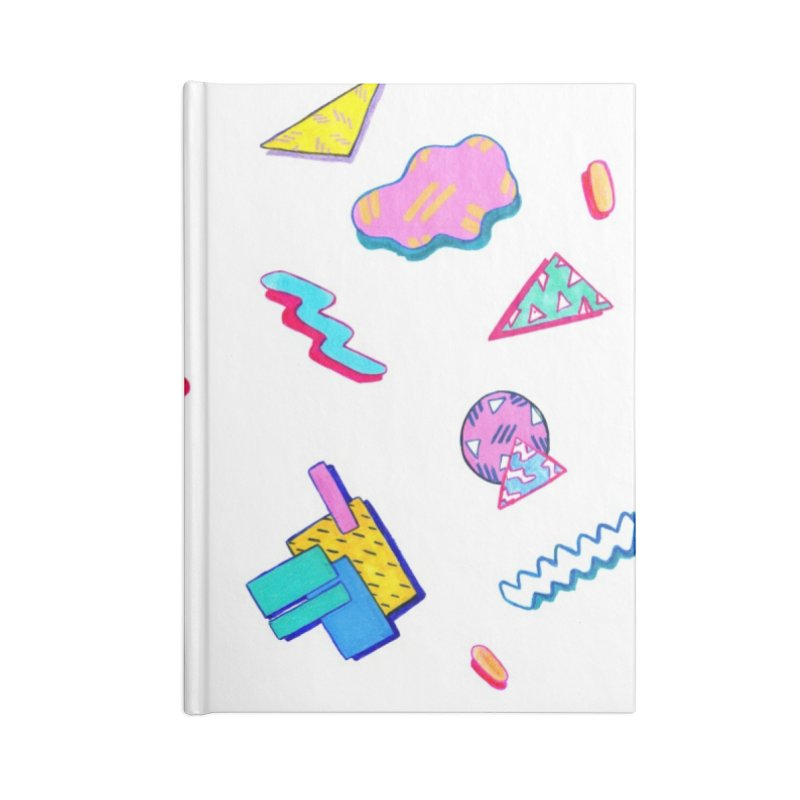 germophobe Accessories Blank Journal Notebook by HIGU ROSE