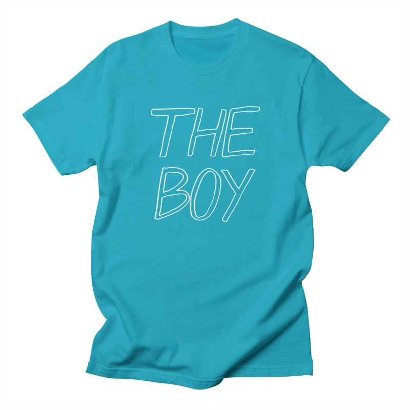 THE BOY Men's Regular T-Shirt by HIGU ROSE
