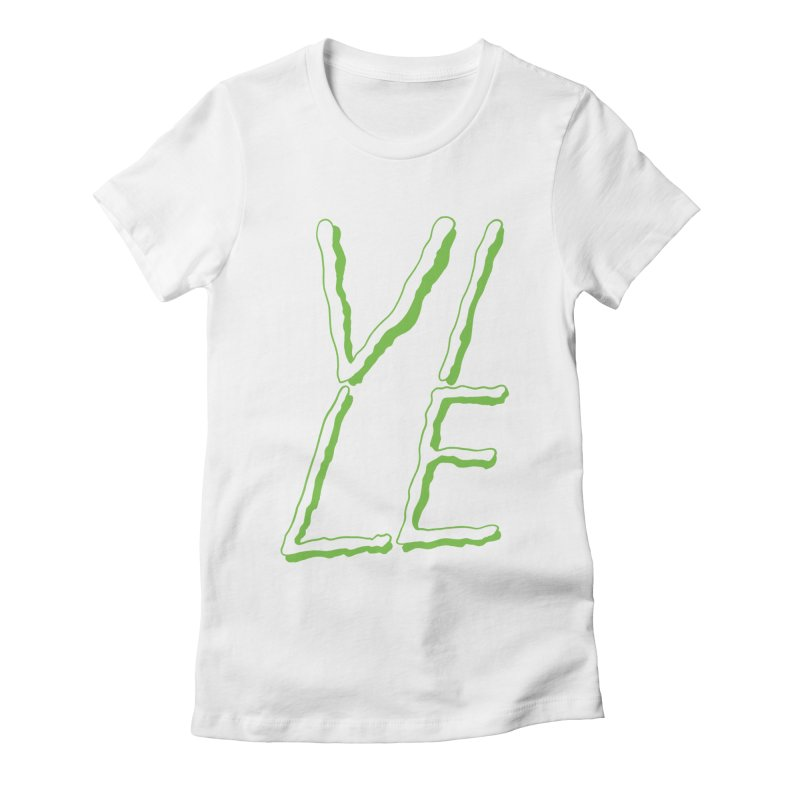 VILE Women's Fitted T-Shirt by HIGU ROSE