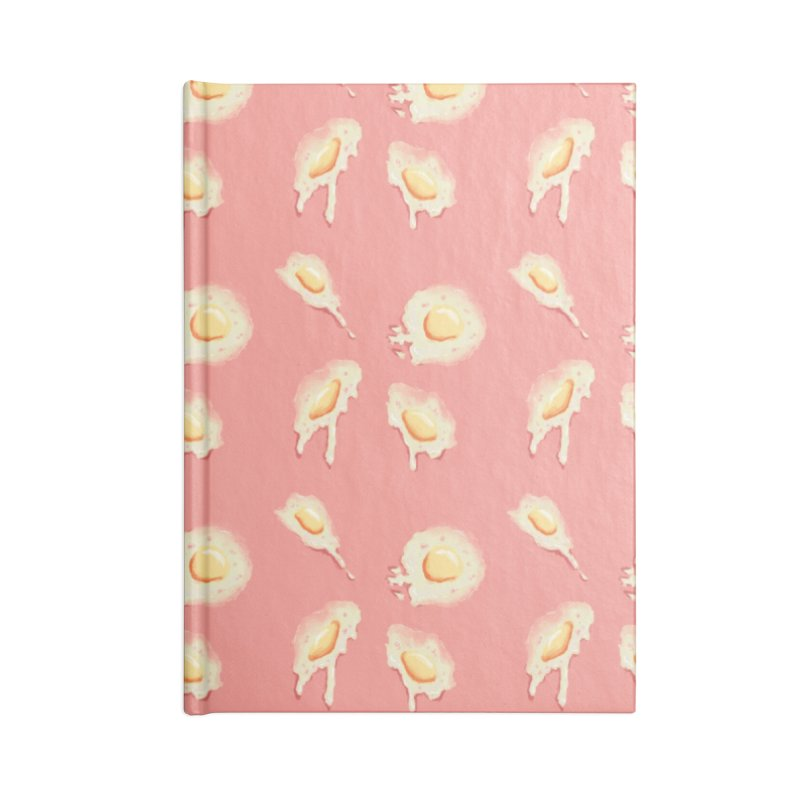 eggies in Blank Journal Notebook by HIGU ROSE