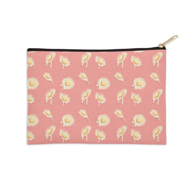 eggies Accessories Zip Pouch by HIGU ROSE