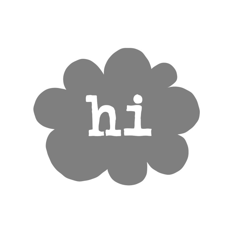 Cloud Hi (Smoke)   by Hi Hello Greetings